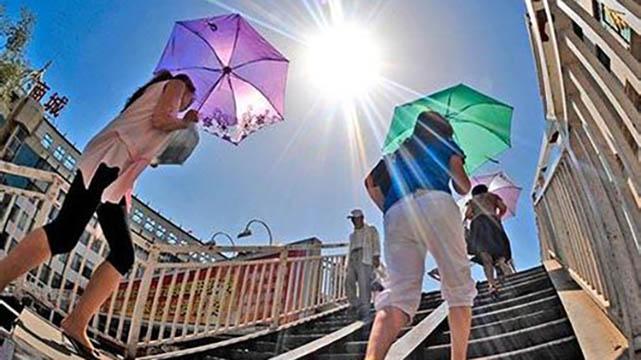 未来5天沈阳市受副热带高压影响高温天气仍将持续