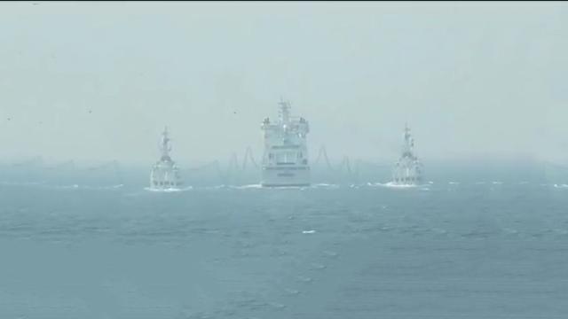 """""""和平-19""""多国海上联合演习"""