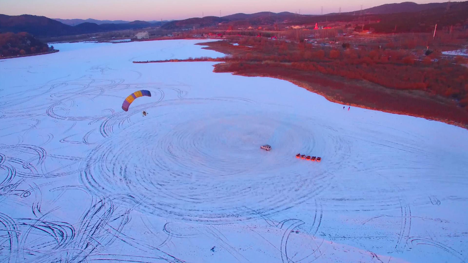 雪后棋盘山 尽显沈阳大美风光