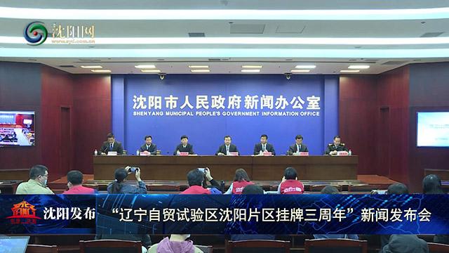 辽宁自贸区沈阳片区3年形成一批制度创新经验成果