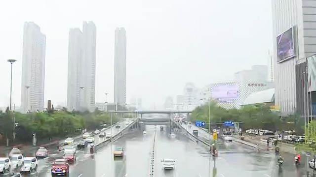 我市出现今年最强降水过程 雨后降温明显