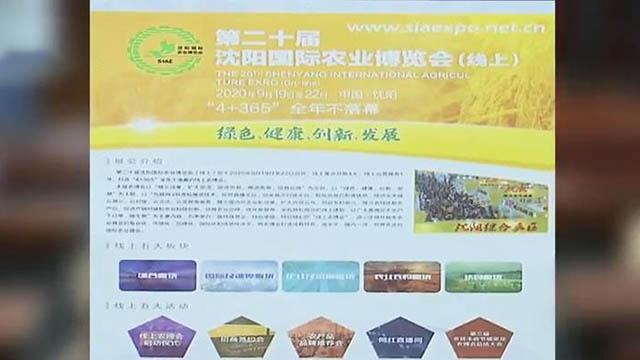 """沈阳国际农业博览会本月""""线上开展"""""""