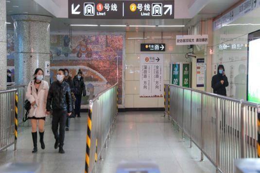 沈阳地铁做好疫情防控:高峰限流 临时关站