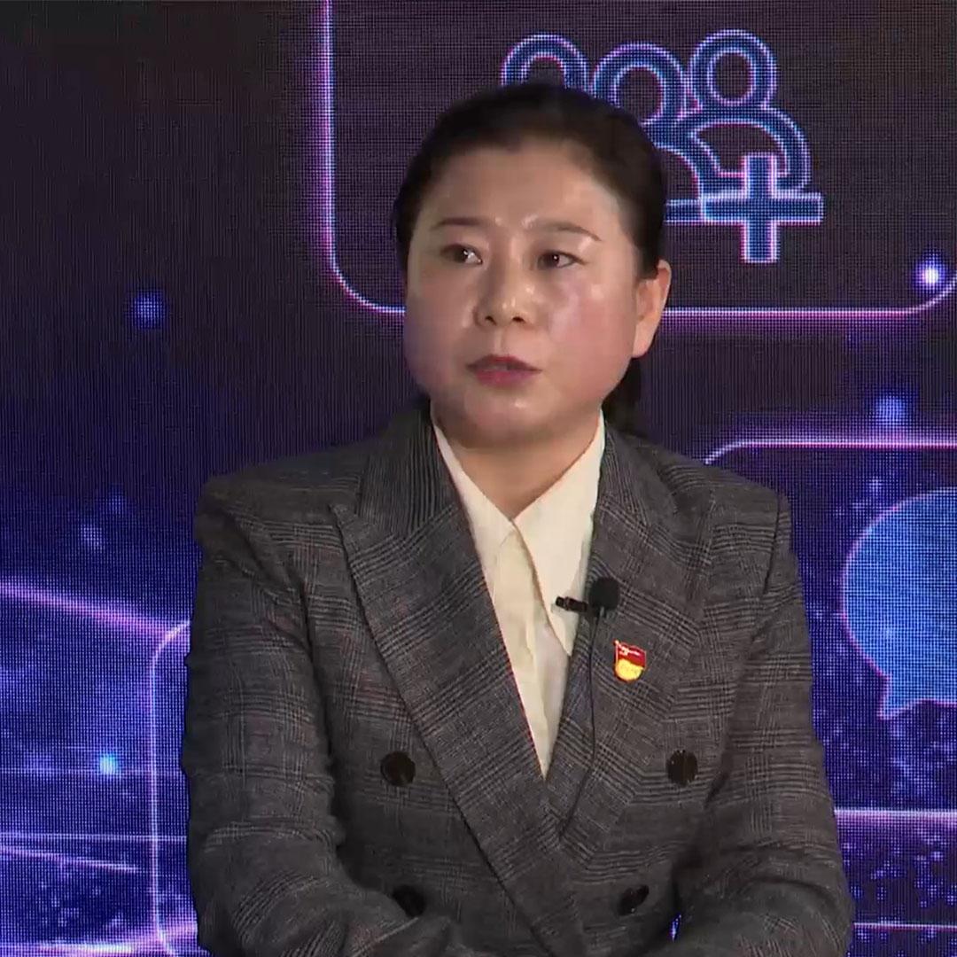 嘉宾介绍:法库县民政局副科职级干部 杨爱萍