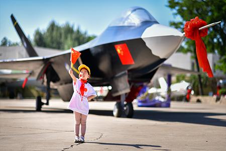 航空科普夏令营活动沈飞航空博览园开营